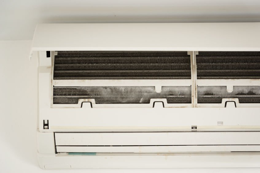 HVAC-Maintenance-needed-for-icing-on-air-conditioning-unit