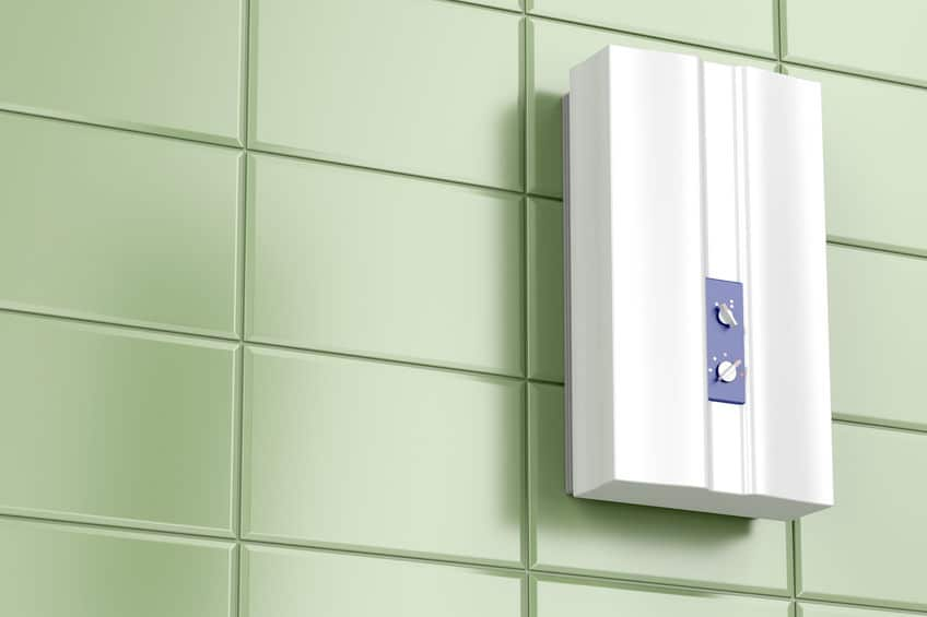 tankless-hot-water-heater-installed-on-bathroom-wall