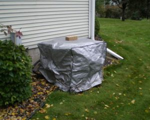 why cover your air conditioner